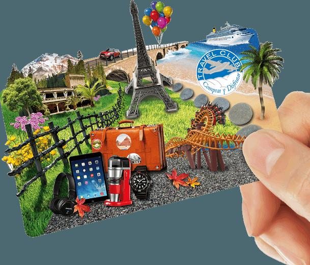tarjeta travel club y amazon